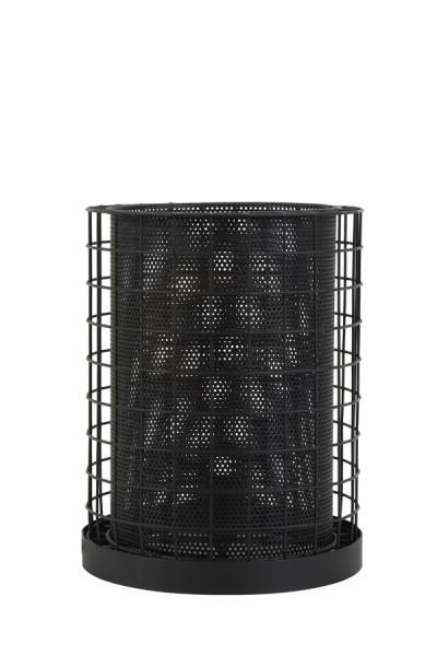 Tischleuchte Cajana Klein matt schwarz