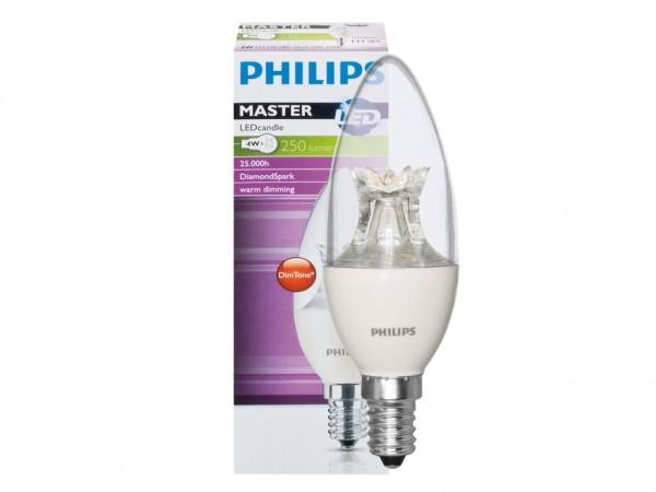 LED Kerzenlampe MASTER-LED 8W 230V 806lm, CND-Dimmung, klar, Standard