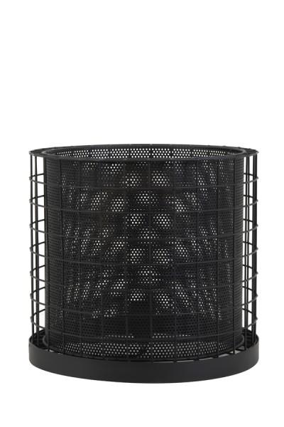 Tischleuchte Cajana Groß matt schwarz
