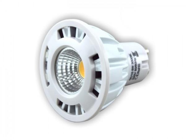 LED Leuchtmittel SE05-GU10 5W 6000K 230V 60° COB 360lm dimmbar