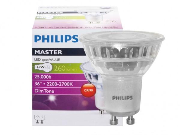 LED Reflektorlampe GU10 4,9W dimmbar CRI90 CND-Dimmung