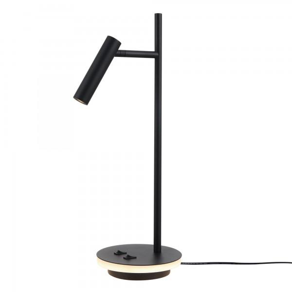 ESTUDO Design LED Tischleuchte 550lm 3000K schwarz