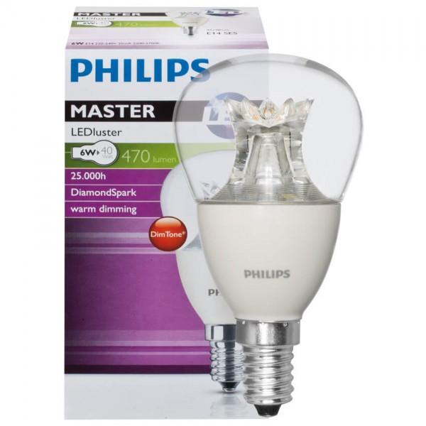 LED-Tropfenlampe LEDLuster E14 240V