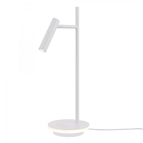 ESTUDO Design LED Tischleuchte 550lm 3000K weiss