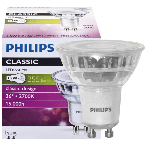 LED-Reflektorlampe CorePro LED-Spot GU10 3,5W 2700K