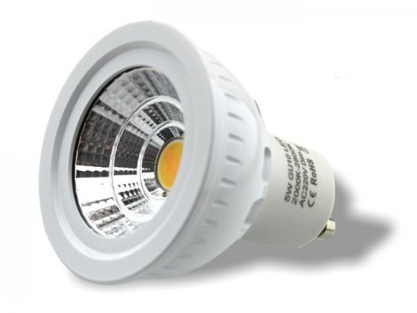 LED Leuchtmittel CND Technik 5W GU10 2000-2800K CRI>88 40° 420lm