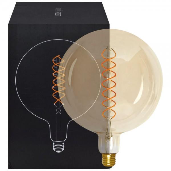 LED Retro Leuchtmittel Spiral 250lm 5W E27 G200